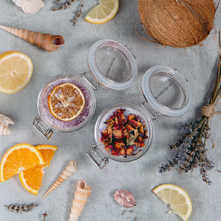 Natural remedies for dry skin in the finished product