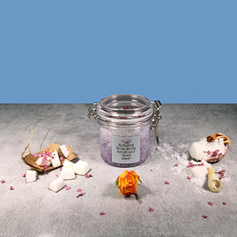 Imago Relaxing Rose Body Scrub and Soak